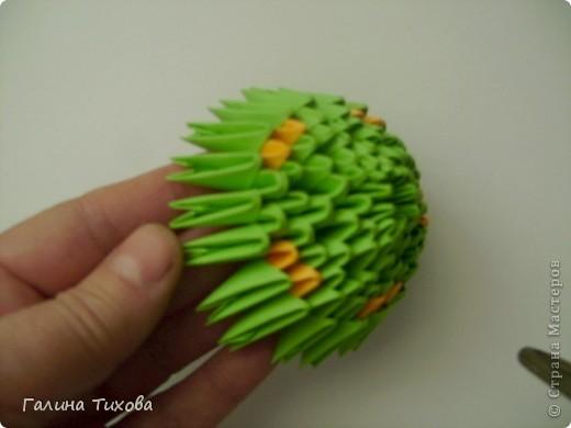 оригами из модулей для начинающих павлин.