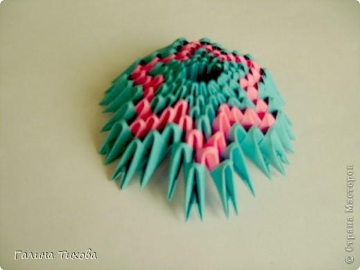 Мастер-класс Поделка изделие Оригами китайское модульное Пасхальное яйцо Мастер-класс Бумага фото 44