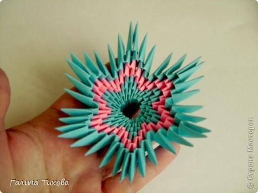 Мастер-класс Поделка изделие Оригами китайское модульное Пасхальное яйцо Мастер-класс Бумага фото 46
