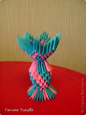 Мастер-класс Поделка изделие Оригами китайское модульное Пасхальное яйцо Мастер-класс Бумага фото 47