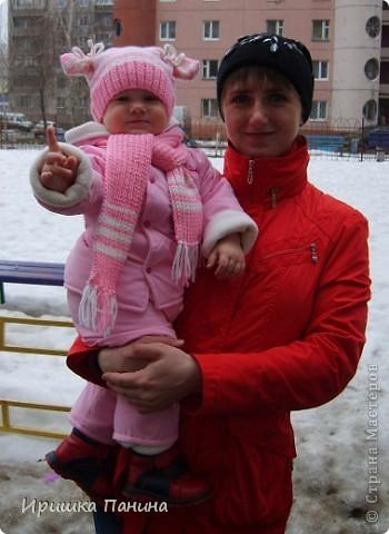 Спасибо ДИВИЯ за идею: http://stranamasterov.ru/node/162416?c=favorite Я очень хотела связать подобную и у меня всё-таки получилось! фото 4