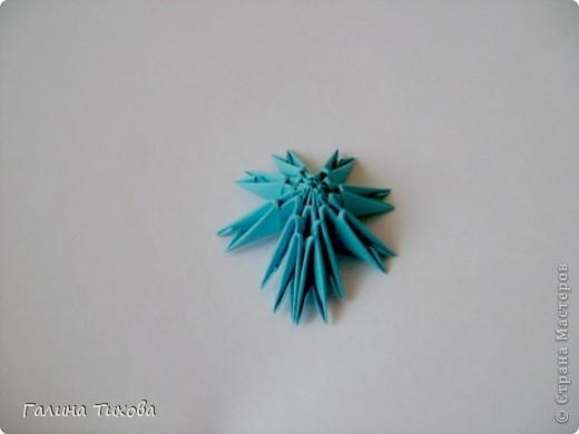 Мастер-класс Поделка изделие Оригами китайское модульное Пасхальное яйцо Мастер-класс Бумага фото 8