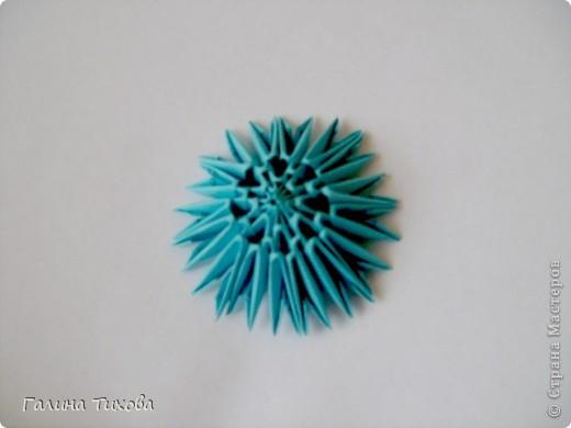 Мастер-класс Поделка изделие Оригами китайское модульное Пасхальное яйцо Мастер-класс Бумага фото 9