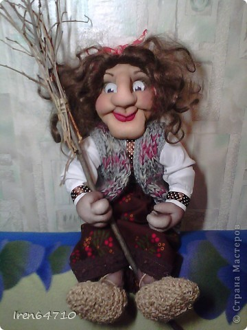 Ягуша-дама озорная получилась,с характером фото 1