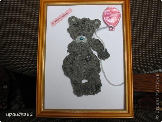 Мишка из солёного теста. фото 1