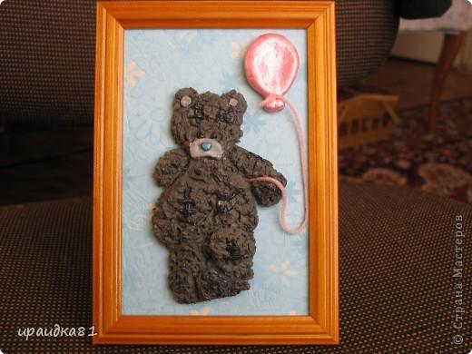 Мишка из солёного теста. фото 2