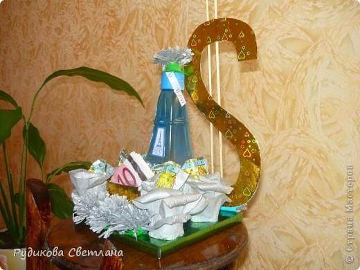 """Подарок куму на день рождение, а так как у него есть сеть магазинчиков по продаже наливной парфюмерии """"RENI"""", то и в подарке присутствует одна из многочисленных бутылочек! фото 3"""