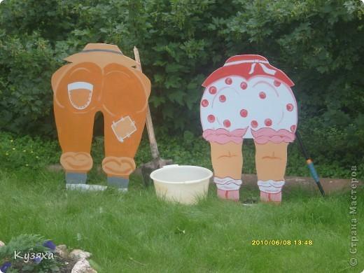 Не одним детским садом я живу, у меня есть еще любимая дача, вот такие огородники там живут(идея из интернета) фото 1