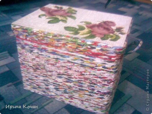 плетеный короб фото 2