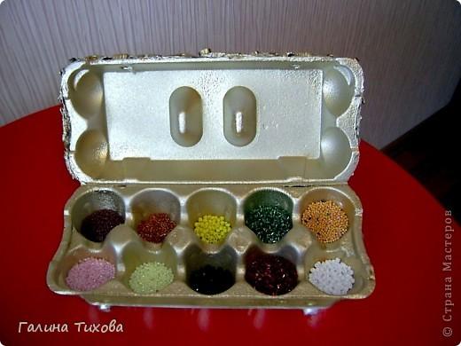 Рамка для фото, декорированная макаронами. фото 8