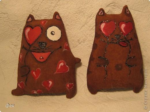 Вот и я попробовала сделать ароматных тонированных кофем котиков .Рисование- не мой талант , потому вдохновлялась и срисовывала у Виктории тут : http://stranamasterov.ru/node/151375 и у Ирины, вот тут: http://stranamasterov.ru/node/163238 фото 1