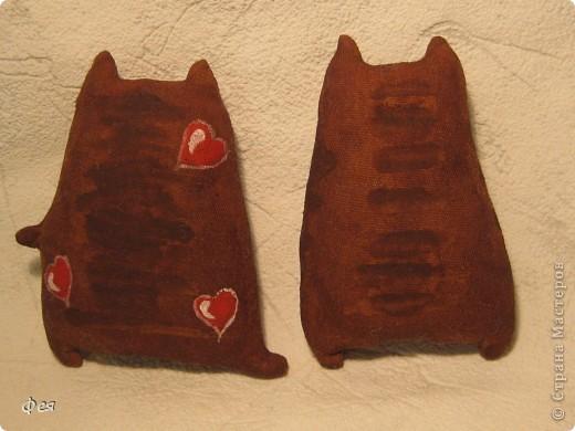 Вот и я попробовала сделать ароматных тонированных кофем котиков .Рисование- не мой талант , потому вдохновлялась и срисовывала у Виктории тут : http://stranamasterov.ru/node/151375 и у Ирины, вот тут: http://stranamasterov.ru/node/163238 фото 2