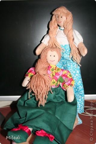 Мои первые девочки Глаша и Маша.Русские красавицы. На подходе более гламурные подруги. фото 1
