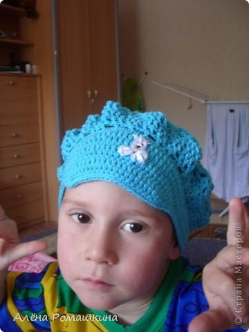 брату берет понравился, но моделью не очень хотел быть))) фото 1