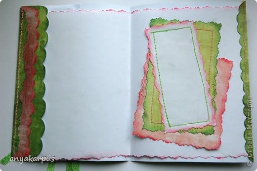 """Это работа Катюшиной мамы. 8 марта уже прошел, поэтому решила сделать открытку для очень замечательной женщины - моей бабушки (вот почему надпись - """"С днем рождения"""") фото 5"""