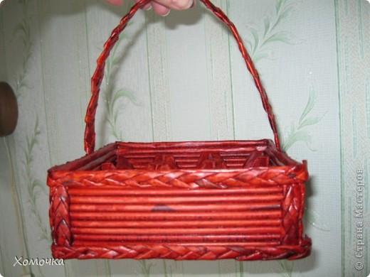 Плетение - Корзинка для пасхальных яиц.