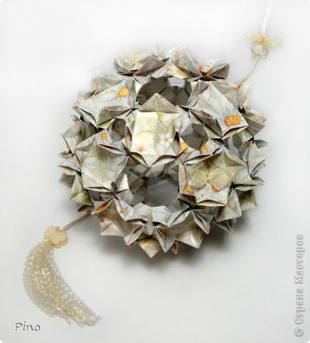 Кусудама Butterfly Cube - Meenakshi Mukerj.  фото 1