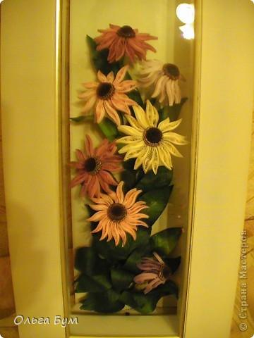 Эхинацеи! Люблю этот цветок в квиллинге - радостный и простой. фото 7