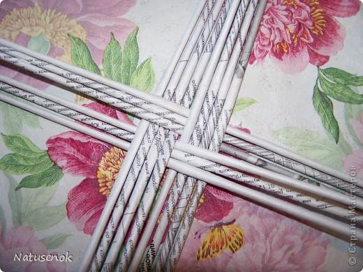 плетем вот такую Пасхальную подставку-плетенку фото 7