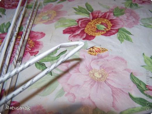 плетем вот такую Пасхальную подставку-плетенку фото 9
