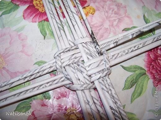 плетем вот такую Пасхальную подставку-плетенку фото 11