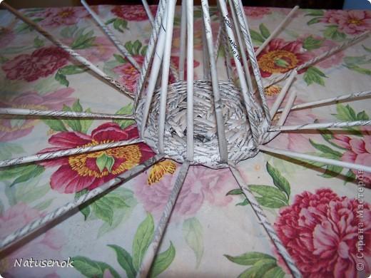 плетем вот такую Пасхальную подставку-плетенку фото 15