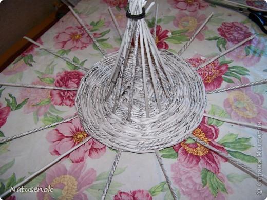 плетем вот такую Пасхальную подставку-плетенку фото 16