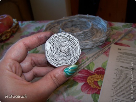 плетем вот такую Пасхальную подставку-плетенку фото 28