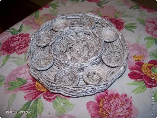 плетем вот такую Пасхальную подставку-плетенку фото 31