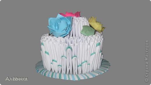 Тортик из модулей