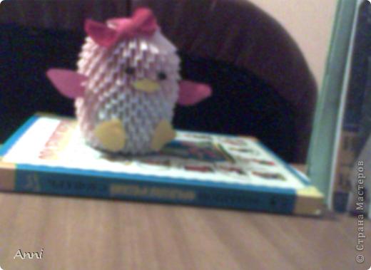 Это мой пингвиненок, я сделала его вчера (Мк взяла вот здесь- http://stranamasterov.ru/node/68293?tid=451%2C328 фото 2