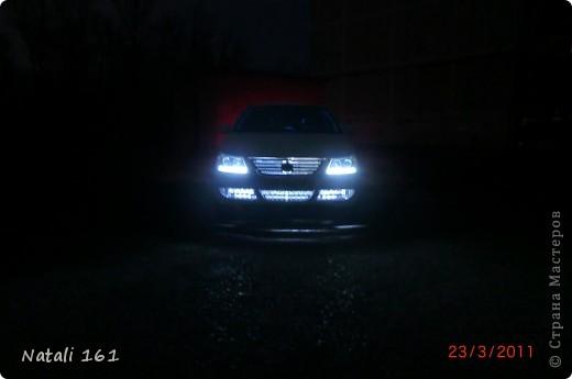 подсветка решетки радиатора и бампера фото 2