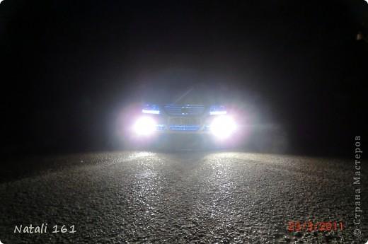 подсветка решетки радиатора и бампера фото 3