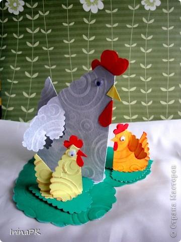Такую курочку, цыплят, яйцо можно сделать к Пасхе (продолжаю тему сердечек). фото 7