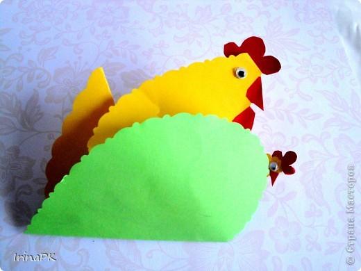 Такую курочку, цыплят, яйцо можно сделать к Пасхе (продолжаю тему сердечек). фото 5