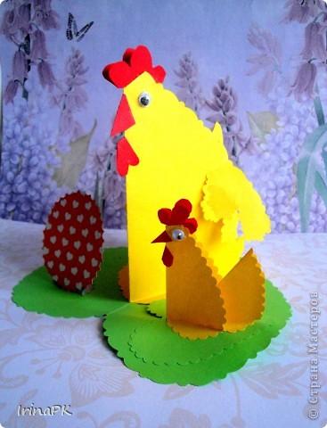 Такую курочку, цыплят, яйцо можно сделать к Пасхе (продолжаю тему сердечек). фото 8