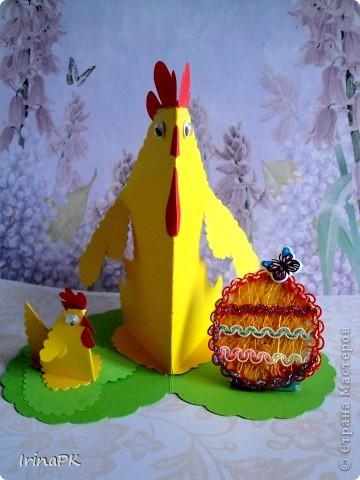 Такую курочку, цыплят, яйцо можно сделать к Пасхе (продолжаю тему сердечек). фото 6