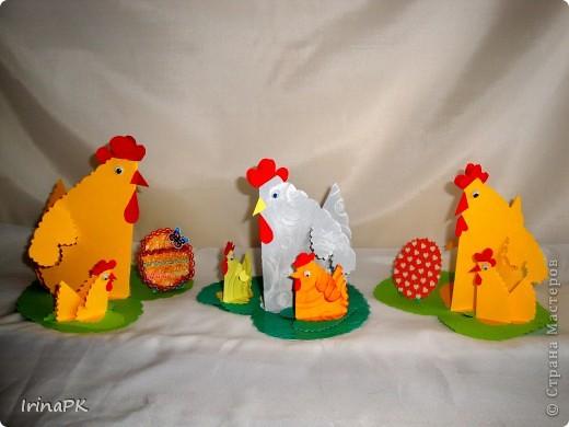 Такую курочку, цыплят, яйцо можно сделать к Пасхе (продолжаю тему сердечек). фото 10