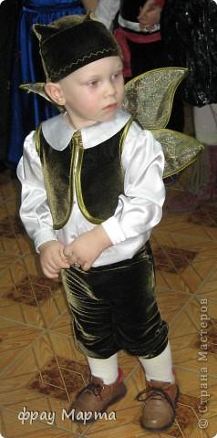 Костюм новогоднего эльфа для мальчика своими руками