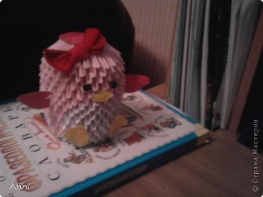 Это мой пингвиненок, я сделала его вчера (Мк взяла вот здесь- http://stranamasterov.ru/node/68293?tid=451%2C328 фото 1
