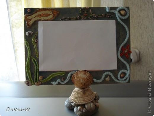 Идея подсмотрена на http://stranamasterov.ru/node/93074?tid=451%2C587. Только я делала рамку из толстого картона и обклеивала гофробумагой фото 3