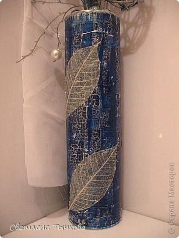 На заказ для интерьера в серебристо-синих оттенках фото 3