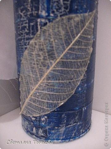 На заказ для интерьера в серебристо-синих оттенках фото 4