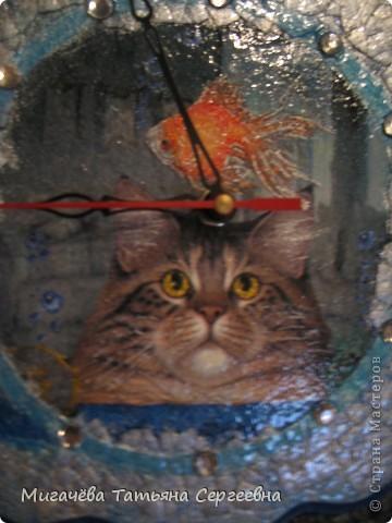 Часики с котом. фото 2