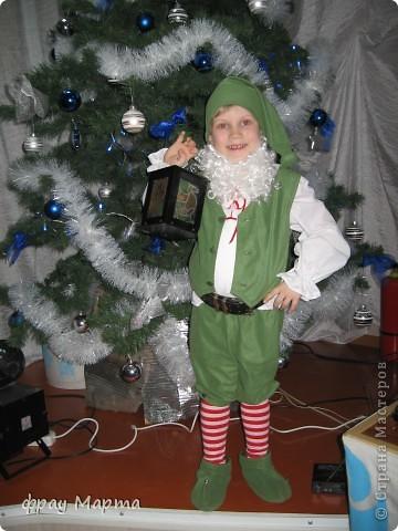 Как сшить костюм гномика на новый год своими руками фото