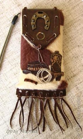Ковбойский наряд для телефона. фото 1