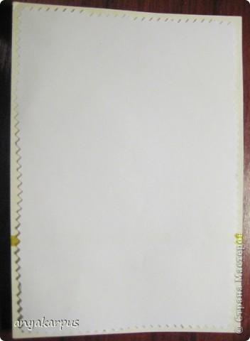 Когда дочурка (ей 9 лет) увидела как я делаю свою открытку по скетчу http://stranamasterov.ru/node/168990, то тоже захотела принять участие в конкурсе. И вот представляем результат (уж очень дочке по душе шитье по фелту): фото 11