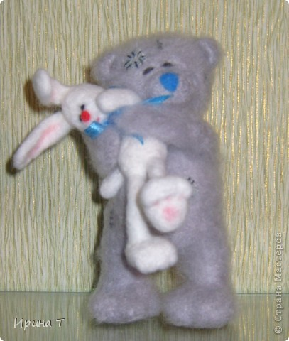 мишка очень любит своего зайку-зефирку... фото 1