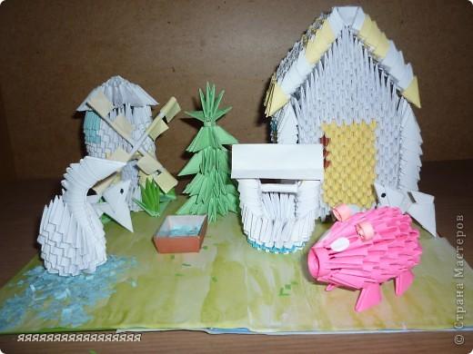 vмой домик в деревне