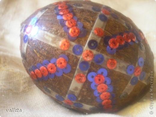 Кокосовое яйцо фото 2